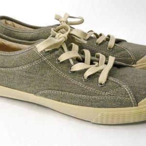 Simple Shoes - Simple Wingman Canvas Shoes Mens 7.5 Khaki Gray